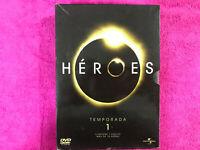 HEROES TEMPORADA 1 CONTIENE 7 DVD MAS DE 18 HORAS EN ESPAÑOL INGLES PORTUGUES ..