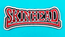 SKINHEAD SKA Reggae Puck Motorcycle Biker Embroidered Iron Sew On Patch Band New