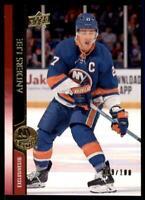 2020-21 UD Series 1 Exclusives #116 Anders Lee /100 - New York Islanders