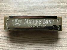Hohner Marine Band Mundharmonika,Thochter hat paar mal benutzt.