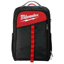 Low Profile Backpack Milwaukee Reinforced Base Rugged Metal Zippers