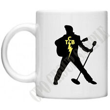 TCB Elvis Presley Taking Care Of Business Music Memorabilia Celebrity Mug Cup