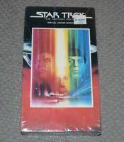 Star Trek The Motion Picture~VHS~Special Longer Version~Sci-Fi~NEW~FAST SHIPPING