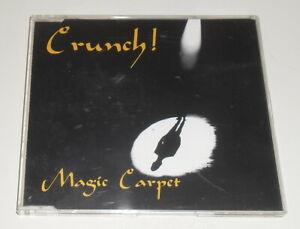CRUNCH - MAGIC CARPET - 1996 UK 4 TRACK CD SINGLE