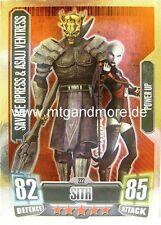 Savage Opress & Asajj Ventress #222 Force Attax Serie 2