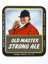 Unused 1950s-60s Eldridge Pope Old Master Strong Ale 9oz Tavern Trove England