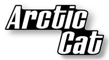 Arctic Cat Sticker Decal PAIR Vintage OEM 0211-564 new firecat F7 Z440 Z sno pro