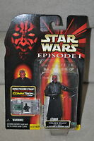 STAR WARS EPISODE 1 DARTH MAUL SITH LORD &  BLADE LIGHTSABER COMMTECH CHIP MOSC