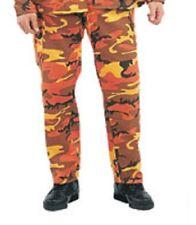 Military BDU Pants - Army Cargo Fatigue Camouflage Camo