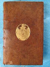 DERHAM : THEOLOGIE ASTRONOMIQUE, 1729. Plats aux armes de La Rochefoucault