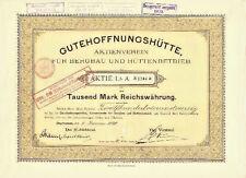 Buena esperanza cabaña Oberhausen Hist. acción 1898 GHH Haniel Duisburg M.A.N. NRW