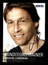 Michael Lindeman Autogrammkarte Hamburger SV 2008-09 Original Signiert + A 64142