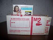 Sylvania M-2 Flashbulbs- 12 packs each of 12 bulbs- 144 bulb case