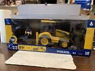 New-Ray 87913 1:18 Volvo BL71 Remote Control Backhoe Loader 27 MHz Sealed New