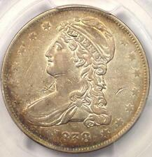 1838 Capped Bust Half Dollar 50C - Pcgs Xf Details (Ef) - Rare Certified Coin