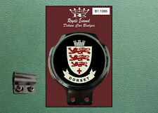 Royale Classic Car Badge & Bar Clip COUNTY of DORSET B1.1066