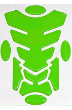 Transformer Lime Green 3D Resin Domed Resin Tank Pad + 4 Oval Pads