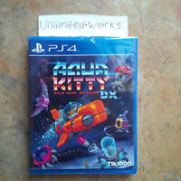 Aqua Kitty DX PS4 Physical Edition PlayStation 4 Brand New Sealed