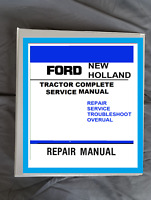 New Holland 7610 7710 7810 8210  tractor Service Repair Binder