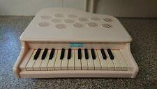 Kawai Toy White P-25 Mini Piano 25 Key Aluminium Pipe Instrument Rare Japanese