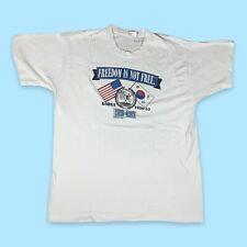Korean War Anniversary 1995 Vintage T-Shirt Mens Size XL White Single Stitch