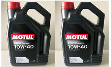 8 LITRI OLIO MOTUL 2100 POWER + 10W40 TECHNOSYNTHESE A3 B4 VW 501.01 505.00