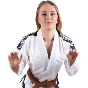 Tatami Fightwear Women's Elements Ultralite 2.0 BJJ Gi - White