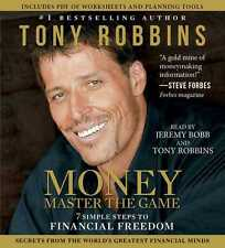 New 6 CD MONEY Master the Game : 7 Steps to Financial Freedom  Anthony Robbins