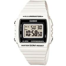Casio W215h-7avdf Men's White 50m Water Resistant Watch With Daily Alarm