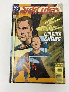 "Comic Book Star Trek Comis by D C (1994) ""The Next Generation"" #59"