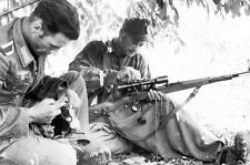 German Sniper PHOTO Mauser Rifle Wehrmacht World War 2 Soldier Germany Army