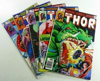 Marvel THOR THE MIGHTY (1980) #298 302 306 307 308 BRONZE AGE Lot VF to VF/NM