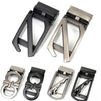 Men's Belt Buckles Metal Letter Z Buckles Ratchet Click Buckle For 3.5 cm Belt