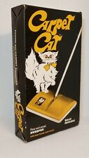 New listing Vintage Carpet Cat Floor & Carpet Sweeper W/ Boar Bristle Rotor Brush New In Box
