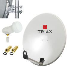 TRIAX TD 64 cm +Single LNB Spiegel SAT Schüssel HDTV HD Klapparm Camping OPTICUM