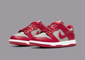 Nike Dunk Low PS SZ 3Y Medium Grey Varsity Red White CW1588-002