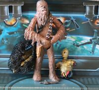 STAR WARS FIGURE 2002 SAGA COLLECTION CHEWBACCA (CLOUD CITY CAPTURE)
