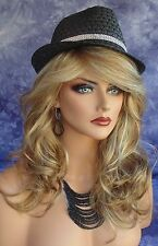 """BRITTANY"" RENE OF PARIS AMORE MONOTOP WIG LONG CURLY *STRAWBERRY SWIRL *NIB"