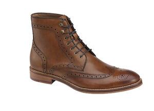 Johnston & Murphy Men's Conard Wingtip Boot Size US 8.5 M Brown