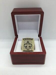 2006 New Orleans Saints Drew Brees Super Bowl Championship Ring Set with Box