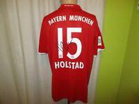 FC Bayern München Adidas Lady Matchworn Trikot 2016/17 + Nr.15 Holstad Gr.XL