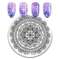 Nail Art Stamping Image Plate Stencil Arabesque Design DIY BP-92 Born Pretty