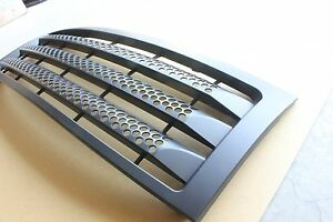 Ford F-150 Pickup Trunk 2004-2008 Front Grille Matte Black Honeycomb Style