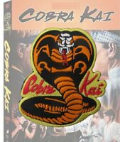 COBRA KAI large Etched Embroidered Badge Patch - Karate Kid Miyagi Karate