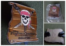 PIN'S BADGE DISNEY PIRATES OF CARIBBEAN ON STRANGER TIDES IMAX 3D