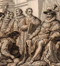 Gravure XIXe Ordre du Saint Esprit Holly Spirit Henri IV Guerres de Religion