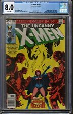 X-Men #134 CGC 8.0 X-Men #136 CGC 9.0 X-Men #137 CGC 8.0 Dark Phoenix