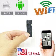 wireless network WIFI IP DIY HD tiny pinhole mini spy hidden camera DVR recorder