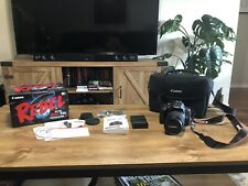 Canon EOS Rebel T6i Digital SLR Camera, 18-135mm Lens (Open Box, Used ONCE)