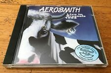 AEROSMITH Live in Brussels 1993 - CD